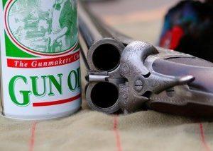 Open gun and gun oil